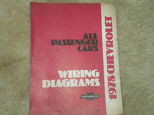 details about 1978 chevy corvette camaro wiring diagrams 1979 chevy wiring diagram 1978 camaro wiring diagram #15