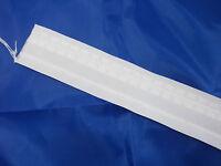 50 Mm Universal - Gardinenband In Weiß Oder Transparent; 1einheit=2 Meter