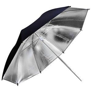 80cm-32inch-Studio-Flash-Silver-Reflector-Umbrella