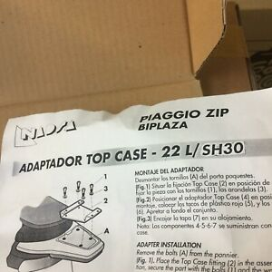 Shad topcarrier Piaggio Zip