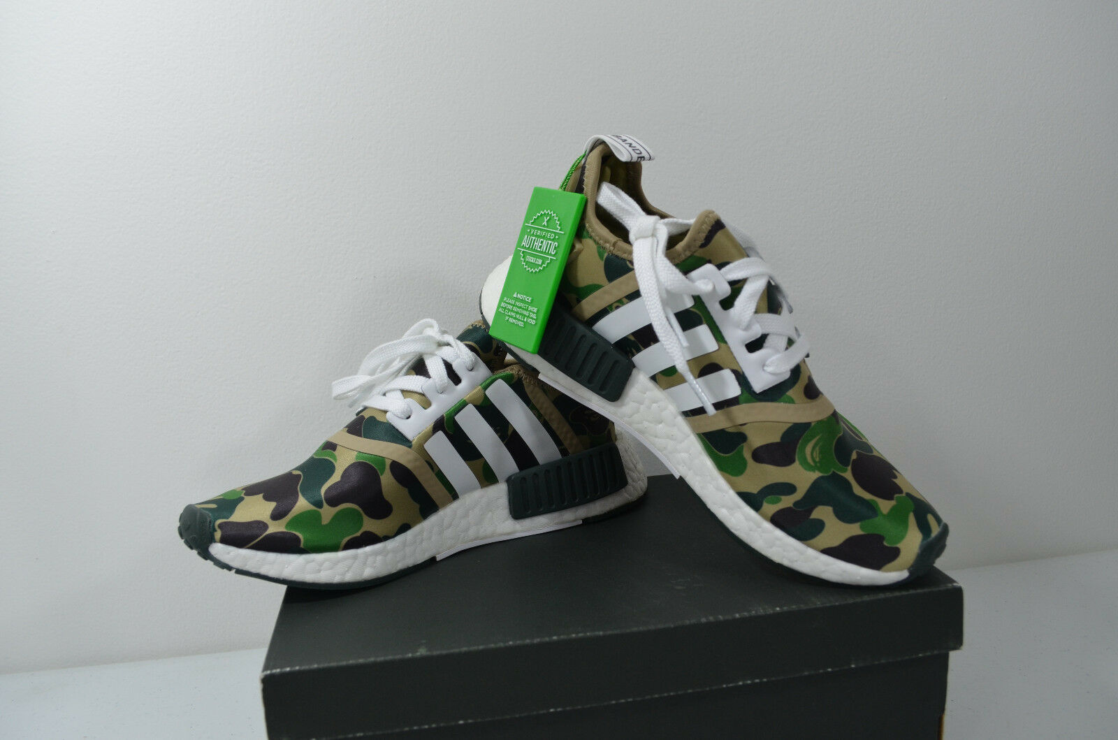 buy popular aff22 020a2 Bape R1 NMD Adidas Limited - Authenticated 5 - Size BA7326 ...