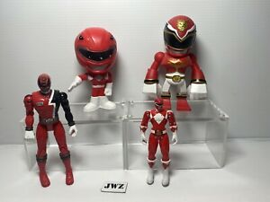 BANDAI Mighty Morphin Power Ranger Rosso Figura Bundle