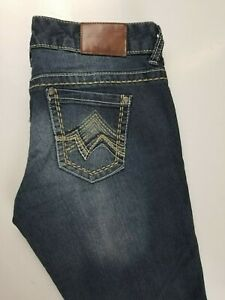 Maurices Straight Stretch Womens Jeans Sz 3/4 Short