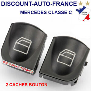 MERCEDES-W203-00-06-W209-CLK-02-09-COMMANDE-LEVE-VITRE-CACHE-BOUTON-GAUCHE-SET