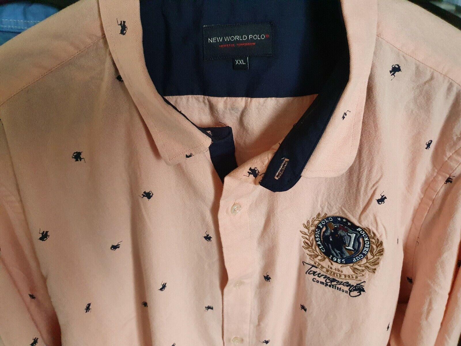 ..GAASTRA Herren Hemd kurzarm + New World Polo Hemd langarm..XXL