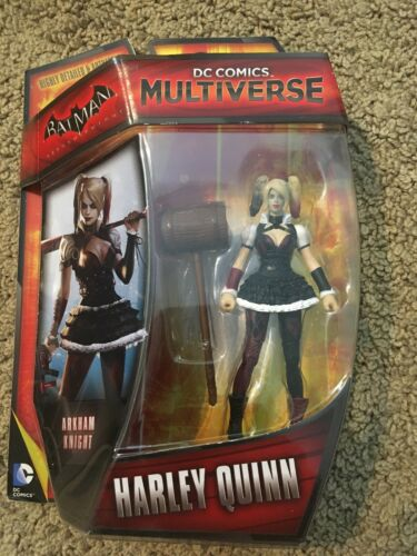 "DC Multi-Univers 3.75/"" Arkham Knight Harley Queen Figure BRAND NEW"