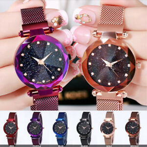 Luxury-Starry-Sky-Masonry-Watch-Magnet-Strap-Buckle-Stainless-Watch-Women-Gift