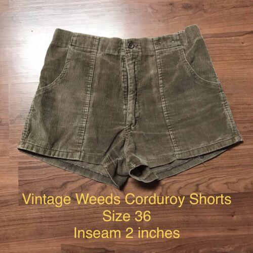 Weeds JC Penney 1970's vintage Corduroy shorts Siz