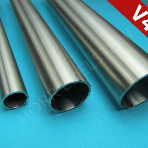 1 m V4A Rohr 42,4 x 2 mm 5//4 Zoll geschliffen zum Einsatz Meer Salz Chlor 100cm