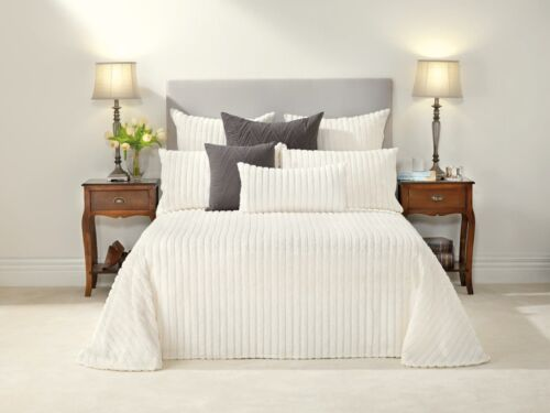 Bianca Chelsea Cream Bedspread Set in All Sizes