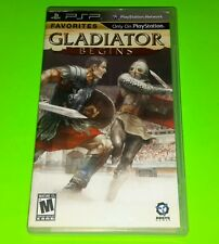 Gladiator Begins (Sony PSP, 2010) Complete! FREE SHIPPING!