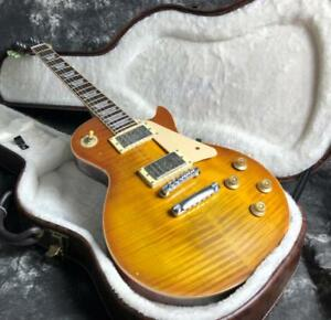 Upgraded-1959-LP-Relic-Electric-Guitar-One-Piece-Neck-amp-Body-Nitrolacquer-Alnico