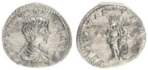 Denier 198-209 Antique/romain Kaiserzeit/g.e.t.a. Comme César Ss-vz-afficher Le Titre D'origine