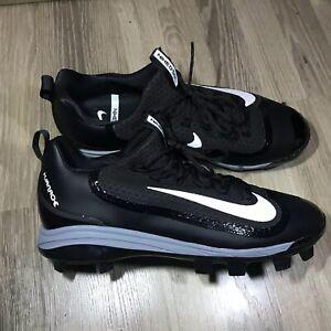 62344cba66388 Nike Air Huarache 2K Filth Low Molded Baseball Cleats Black Grey ...