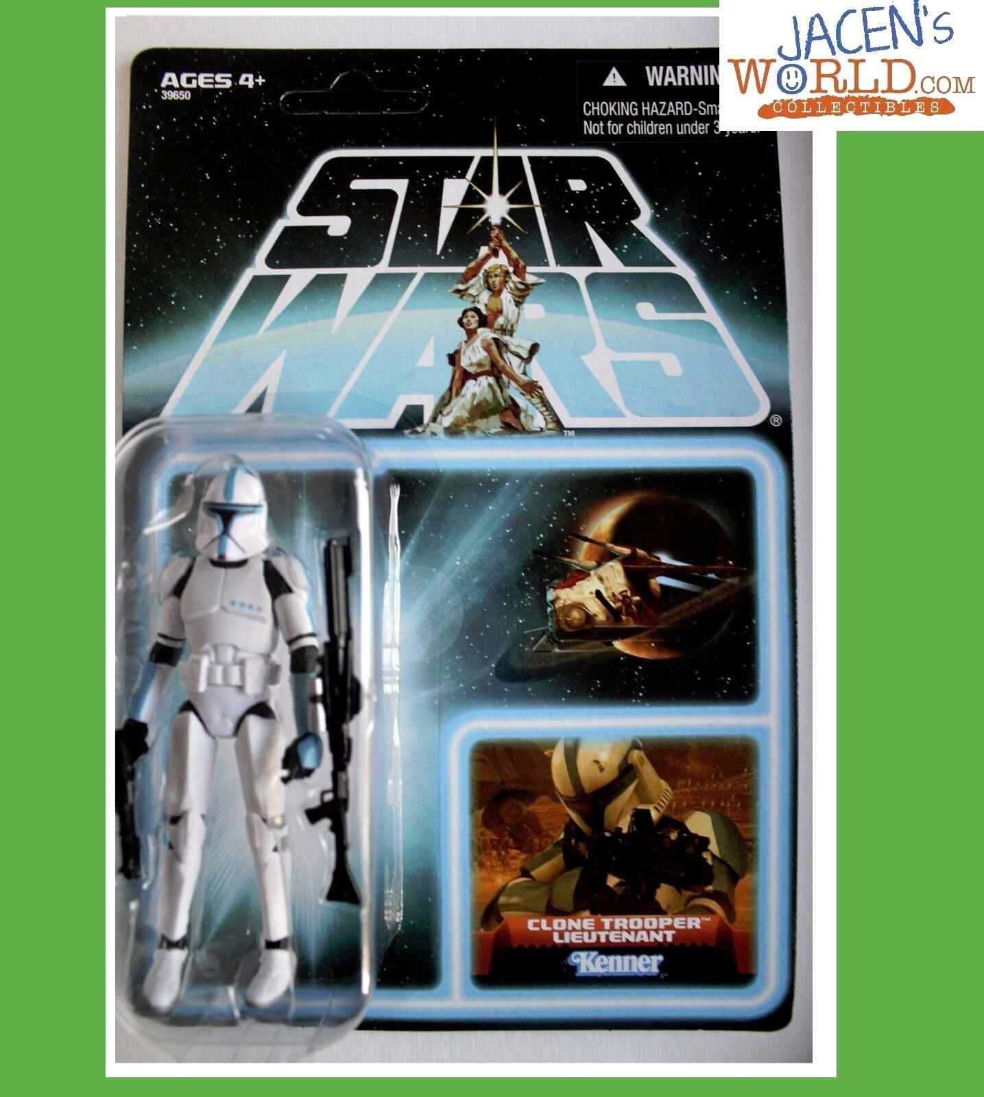 CLONE TROOPER LIEUTENANT VARIANT EP202 VC109 FIGURE STAR WARS VINTAGE COLLECTION