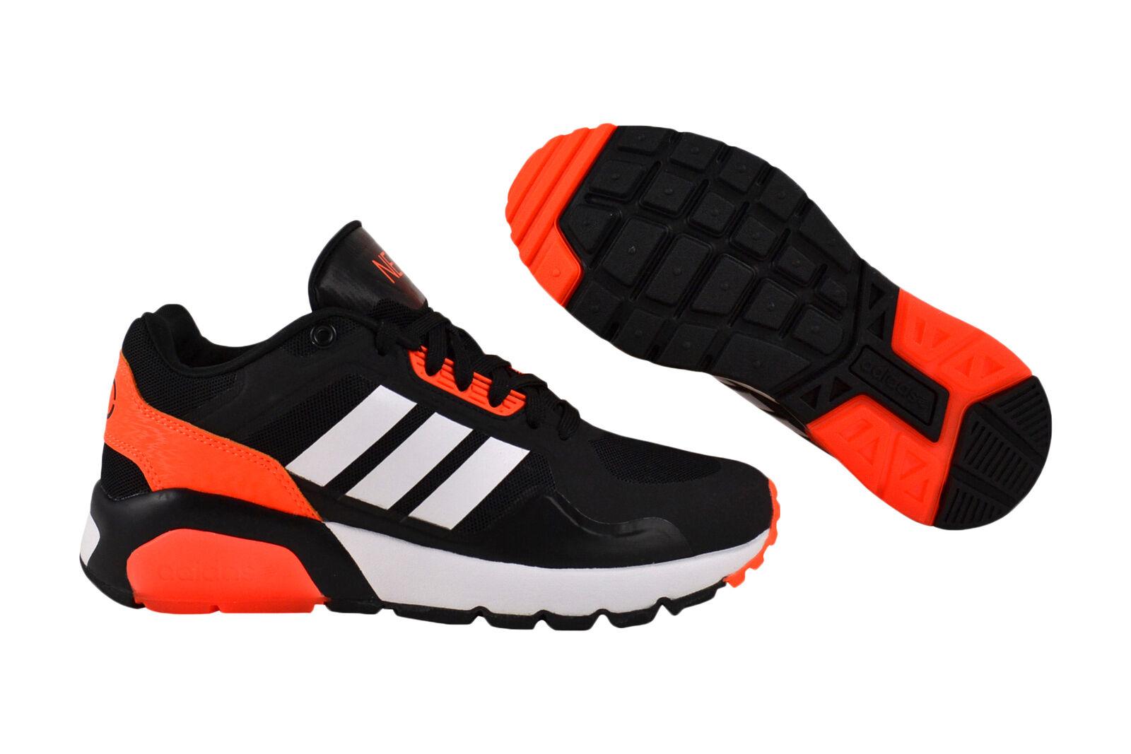 Adidas neo run 9 ties negro zapatilla de deporte zapatos negro