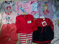 Amazingnew Bundle Outfits Summer Winter Baby Girl Clothes 12/18 Mths(2.5nr218