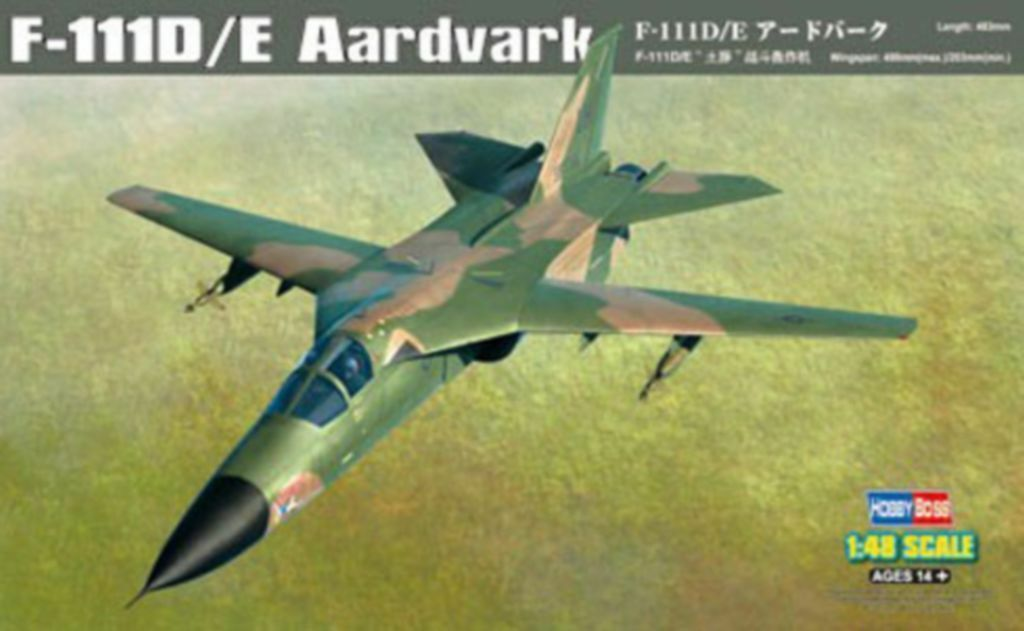 Hobby Boss 1 48 80350 F-111D E Aardvark model kit