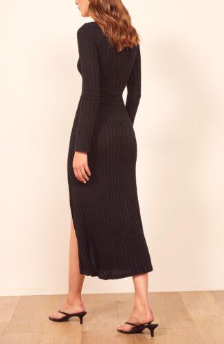 Reformation Mango Dress: Size M: Black (64)