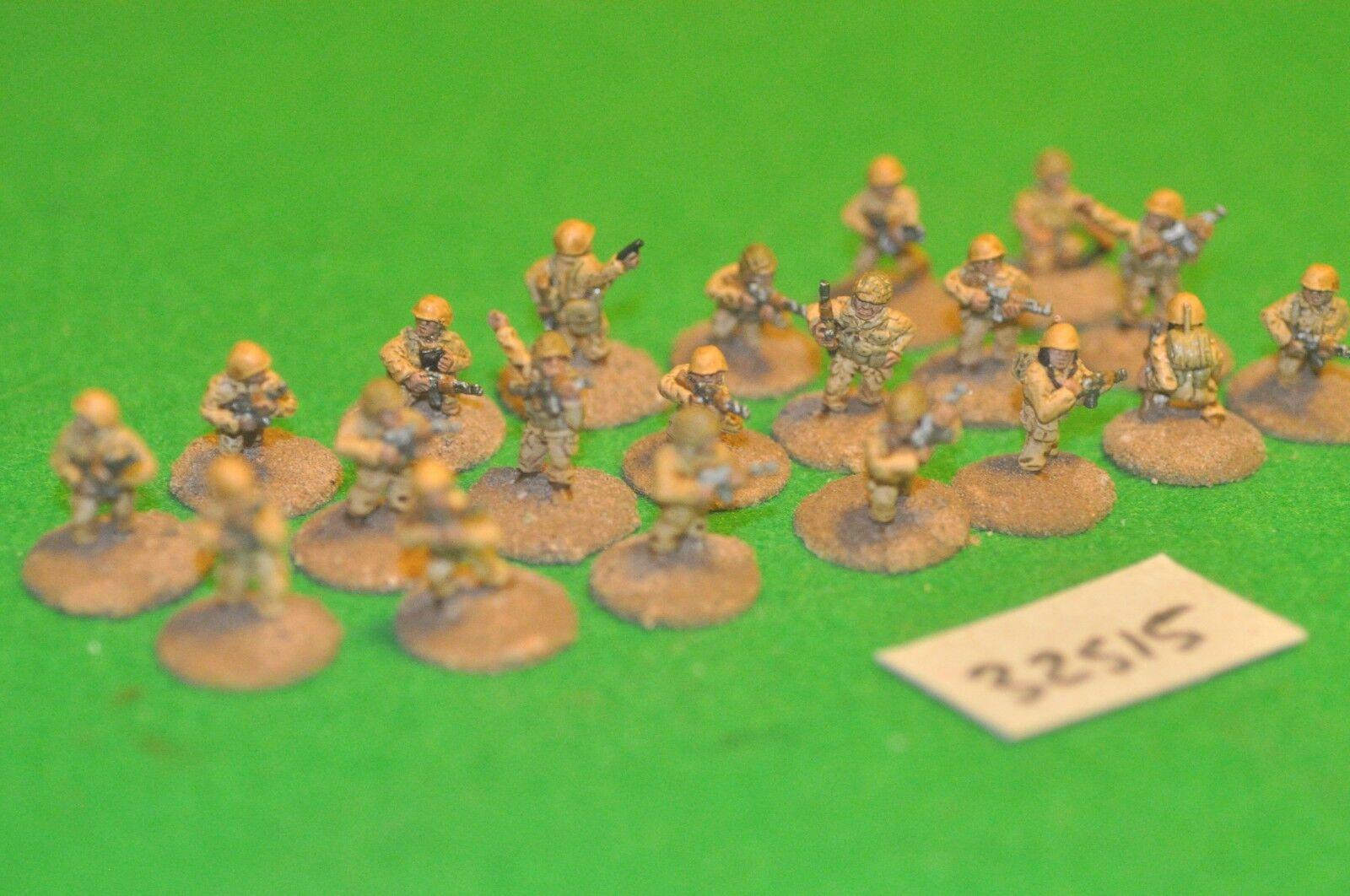20mm modern   africa skirmish - skirmish 20 figures - inf (32515)