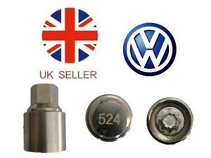 VW-New-Locking-Wheel-Nut-Key-With-Letter-D524