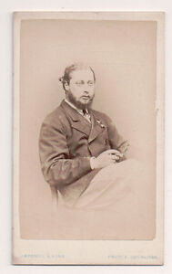 Vintage-CDV-King-Edward-VII-of-Great-Britain-Russell-amp-Sons-Photo