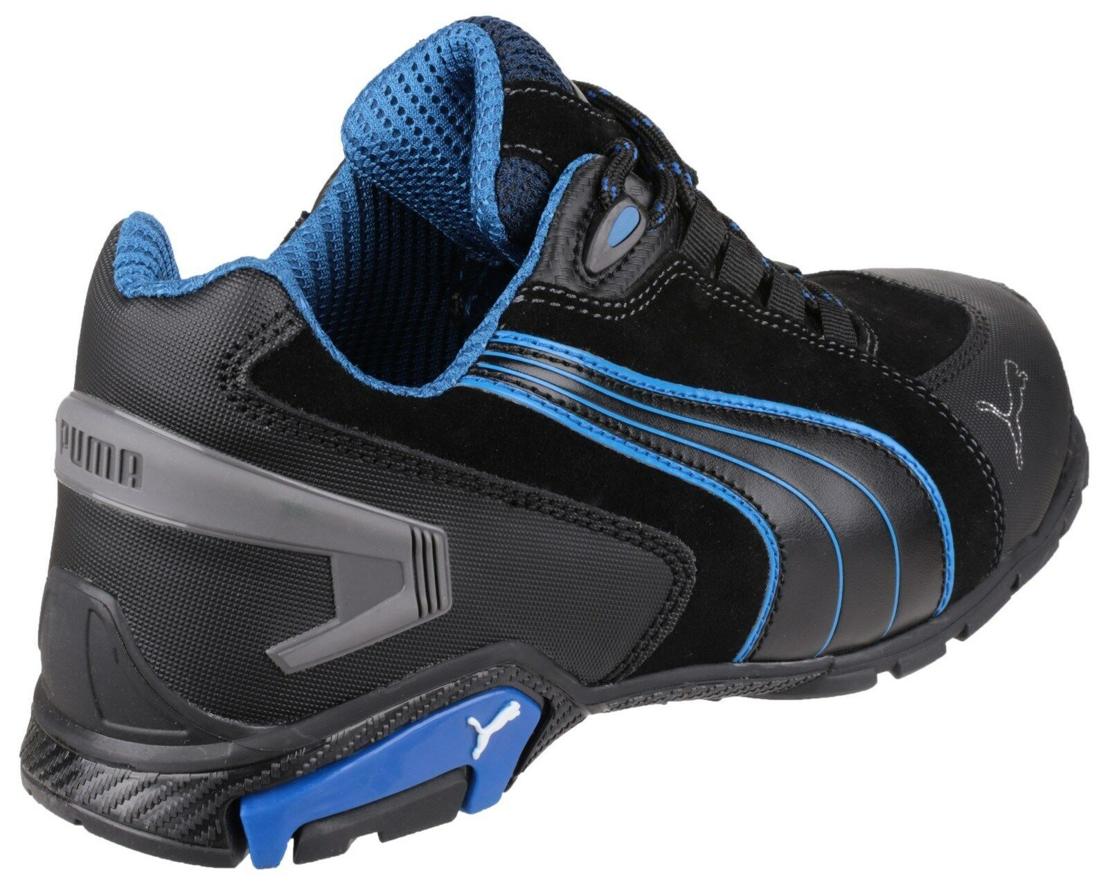 Puma Rio noir/Bleu faible Safety homme Industrial UK6-13 Work Bottes Trainers chaussures UK6-13 Industrial aa62b0