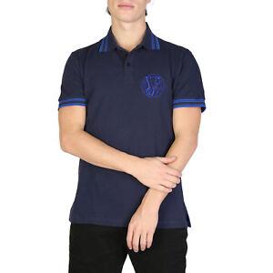 VERSACE-JEANS-da-Uomo-Maglia-Polo-A-Maniche-Corte-Polo-Camicia-Polo-T-Shirt-Camicia