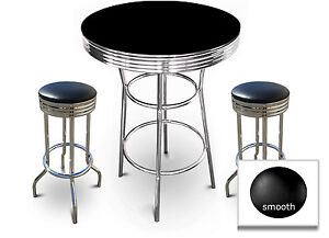Image Is Loading Counter Height 36 034 Tall Black Bar Table