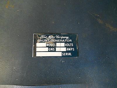 P95 Jeep Willys MB GPW Ford Generator sticker