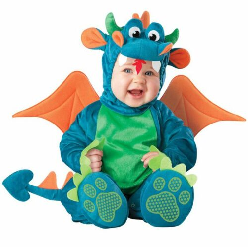 Baby Costume Infant Dragon Dinosaur Cosplay Toddlers Romper Clothing Set Gift
