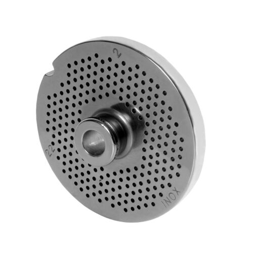 Hole Disc with Hub for Meat Grinders Sizes 22 with all Holes