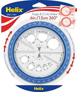 Hospitalier Helix 360 ° Angle Et Circle Maker, Couleurs Assorties 36002-afficher Le Titre D'origine