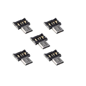 5x-Ultra-Mini-DM-Micro-USB-5pin-OTG-Adapter-Connector-For-Cell-Phone-Tablet