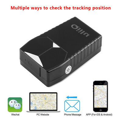 Magnet Car Vehicle Real-Time GPS GSM GPRS Tracker Tracking Global Locator Device