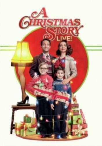 CHRISTMAS STORY LIVE (2017) (Region 1 DVD,US Import.)
