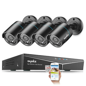 SANNCE-8CH-5in1-DVR-In-Outdoor-1500TVL-Camera-Home-Surveillance-Security-System