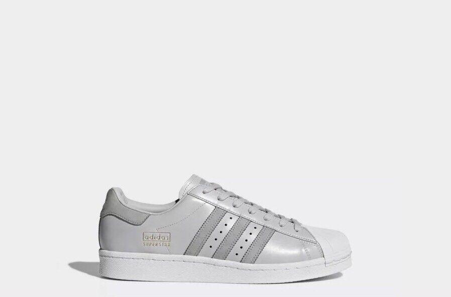 Adidas Original SUPERSTAR BOOST Men's Atletic Sneaker US 13 Grey White BZ0206