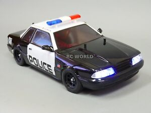 110 rc car police kit top light bar police decals police 1 10 rc coche kit de policia luz aloadofball Image collections