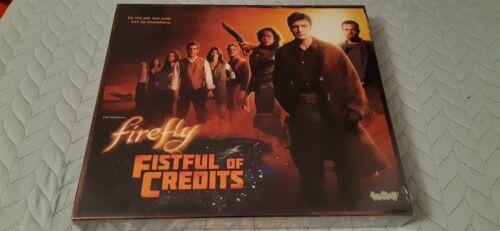 FIREFLY pugno di crediti Board Game NUOVO SIGILLATO 2-4 giocatori Toy Vault 2014