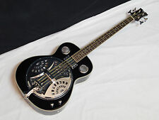 DEAN Resonator Bass 4-string acoustic electric BASS guitar NEW Classic Black