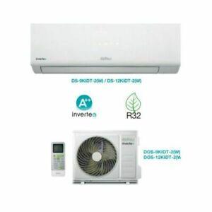 CLIMATIZZATORE CONDIZIONATORE DAITSU MONOSPLIT 9000 BTU R-32 A++/A+ NO WIFI