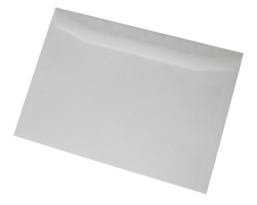 nessuna finestra 229x324mm adesivi Mailer PLAIN portafoglio C4 Buste Bianche