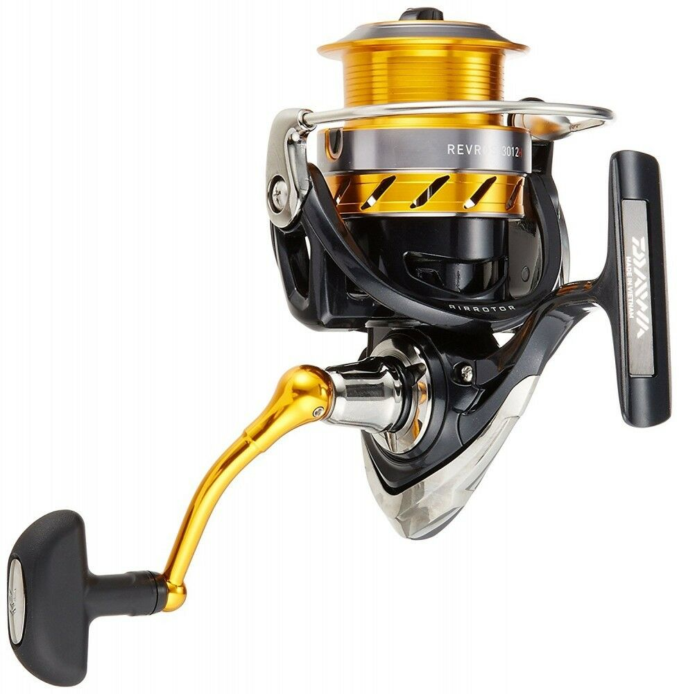 Daiwa Spinning Reel 15 From Rebros 3012H (3000 Größe) For Fishing From 15 Japan 2ece08