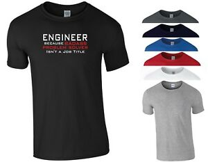 98d2ebfc42 Engineer Funny T Shirt Badass Problem Solver Joke Gift For Him Dad ...