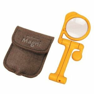 pocket magnifier magnifying glass reading foldable self standing Engineer SL-64