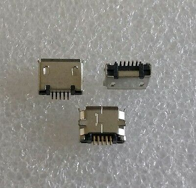 Micro USB 5 Pin Connector Buchse Charger Ladebuchse Tab Tablet Sony Samsung LG