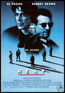 Image result for heat 1995 movie poster