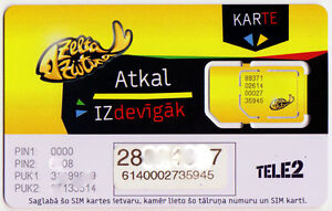 Prepaid Karte Internet.Details About Latvia Tele 2 Prepaid Internet Micro Sim Card New Unactivated And Un Punched