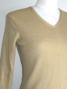 Camel V Nwot Neck Ribbed Crew Sweater S 79 Merino J Tan Uld 6HHEfq